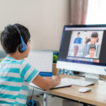 Young Boy Online Learning Bucks County PA